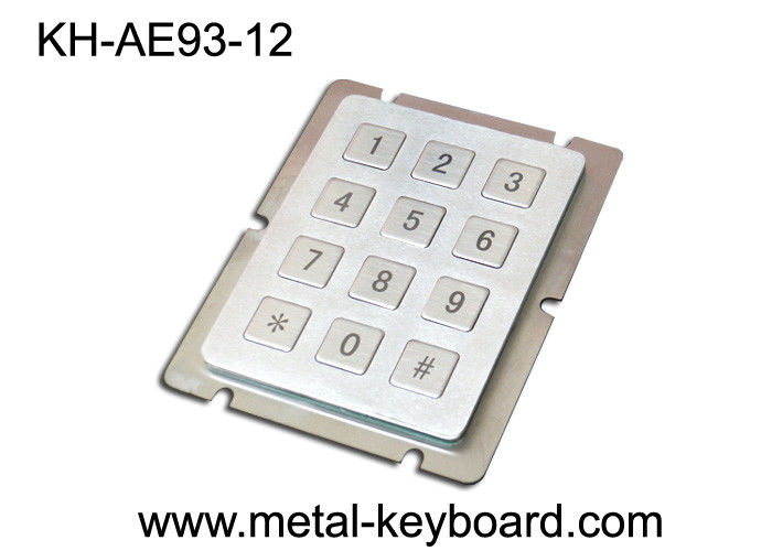 Waterproof industrial keypad with Normal 12 keys Design Version