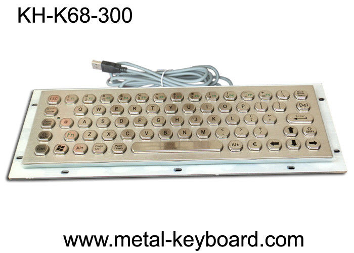 IP65 Rate Industrial Computer Keyboard with Rugged Metal Material
