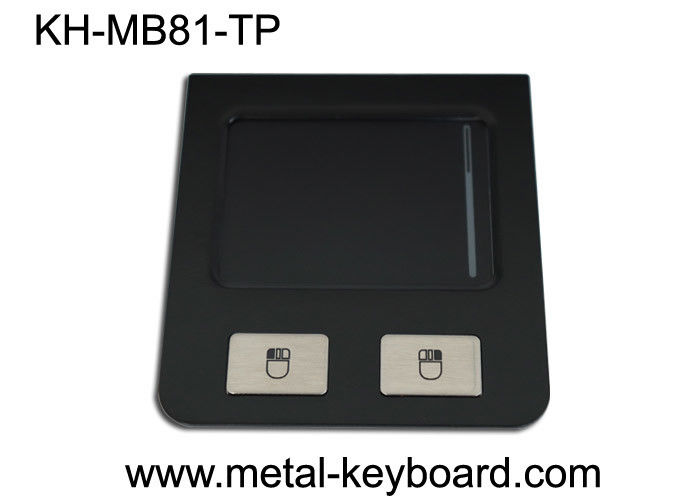 Vandal - Proof Industrial Touchpad Waterproof Black Stainless Steel Material